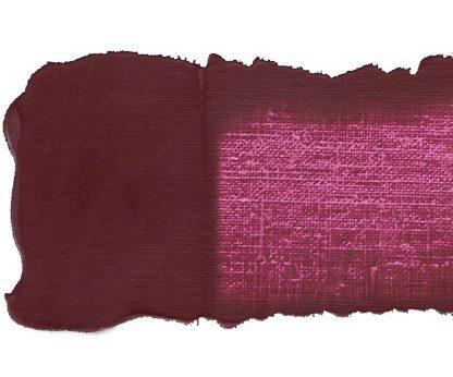 Tube de peinture violet rouge quinachridone
