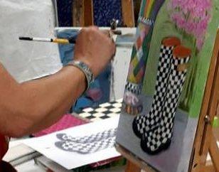 Peindre à l'acrylique Interactive