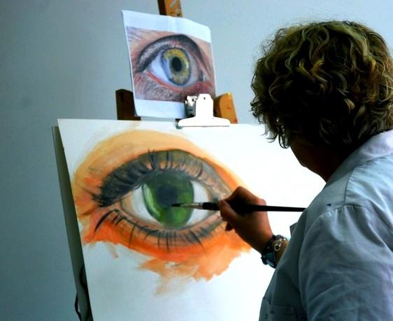 Stage peinture Fourqueux, Yvelines