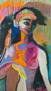 Un paradis personnage expressionniste Cécile Coutant