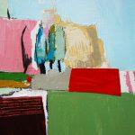 Mathilde Bellecombe, peinture au couteau