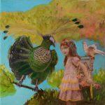 Les oiseaux Valerie Auriel collage surrealiste