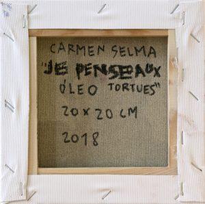 Je pense aux tortues de Carmen Selma