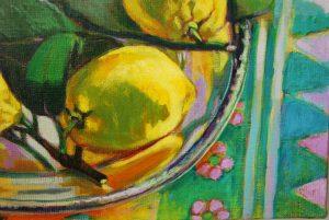 Nature morte aux citrons de Graziella
