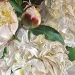 Peonies sweetness fleurs hyperréalistes Juliana Wildner