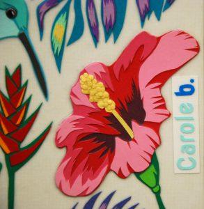 Oiseau de paradis n°13 de Carole b