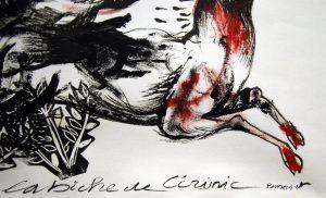 La biche de Cérisnic de Jérôme Bouscarat