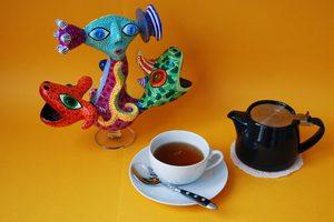 tasse de café avec oeuvre de Wabé
