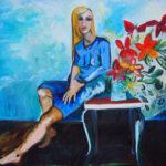 La fille en bleu de Cécile Coutant
