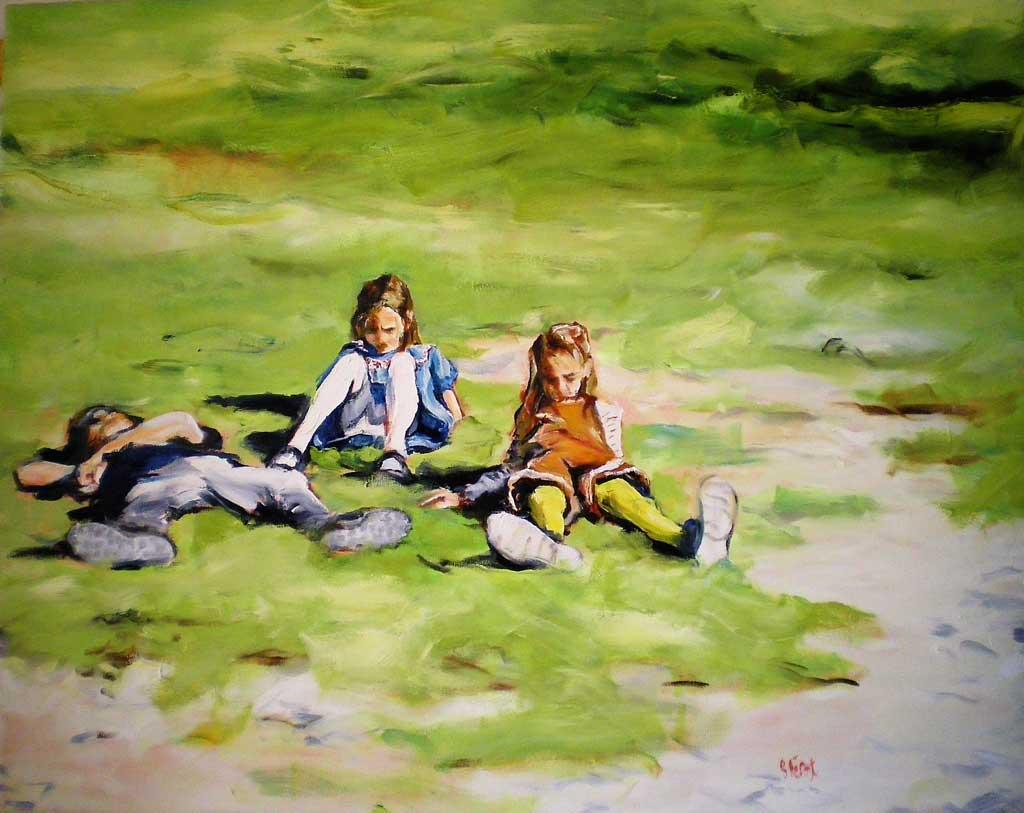 Les filles et Ilian