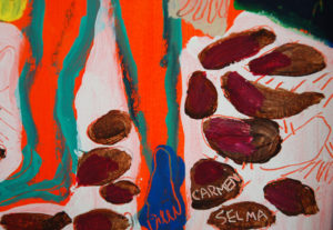 Le lutteur sénégalais de Carmen Selma