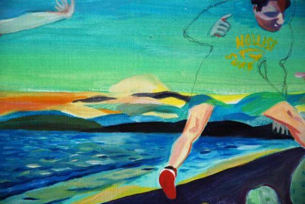 Jump at Santa Monica par Delphine Rocher