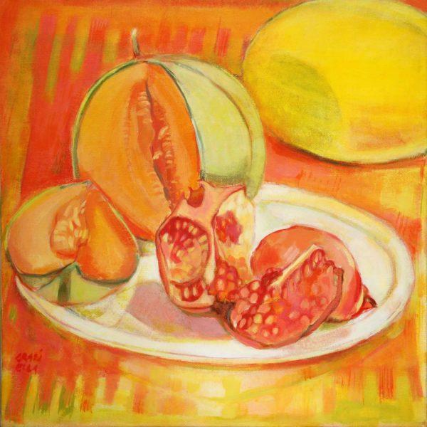 Melon et grenades de Graziella