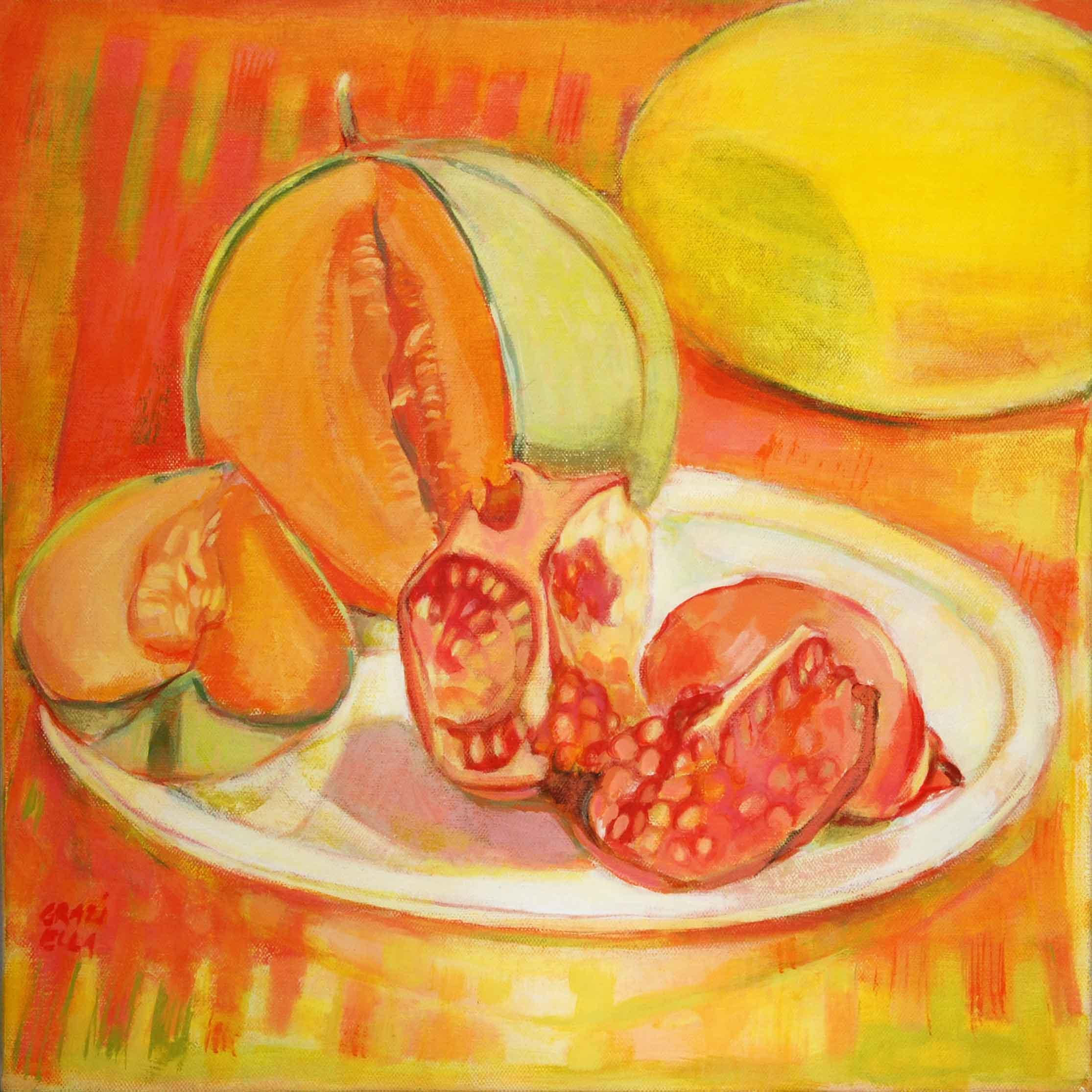 Melon et grenades