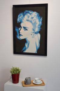 Blue Madonna de Carole b.