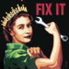 Yes, she can fix it