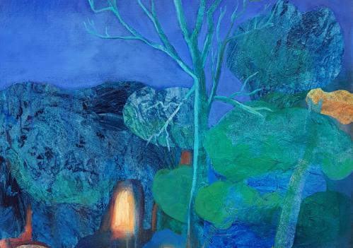 Détail de l'arbre providentiel de Valérie Auriel