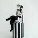 Petite colonne assise de Philippe Messager