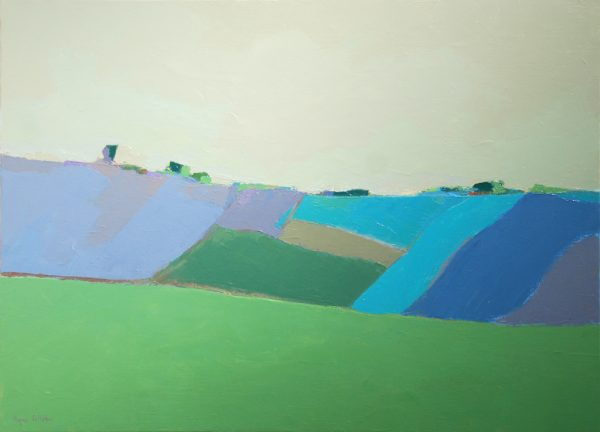 Paysage bleu d'Agnès Cellérier