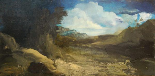 Paysage dans la brume de Jérôme Bouscarat