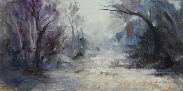 Paysage d'hiver de Jérôme Bouscarat