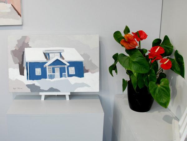 La maison bleue d'Agnès Cellérier