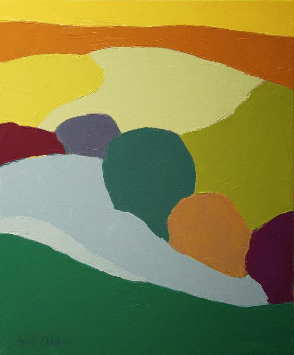 Paysage du Tarn, du côté d'Appelle d'Agnès Cellérier
