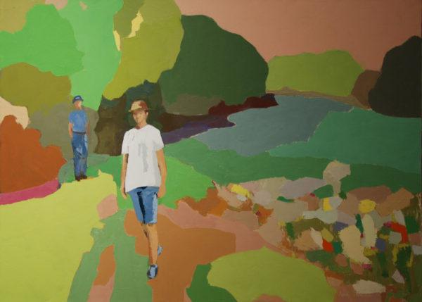 Promenade derrière la croisille d'Agnès Cellérier