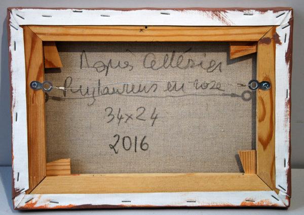Puylaurens en rose d'Agnès Cellérier