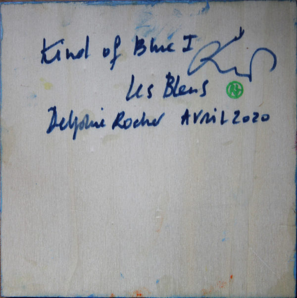Kind of blue I de Delphine Rocher