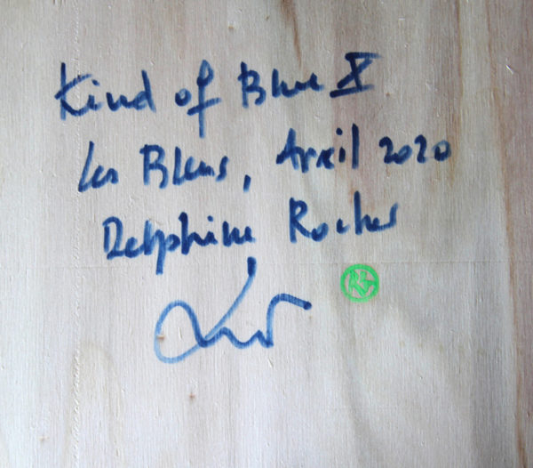 Kind of blue X de Delphine Rocher
