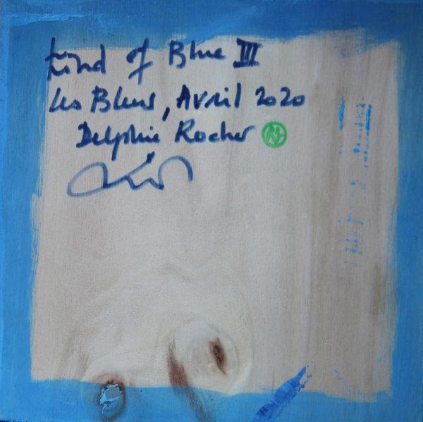 Kind of blue III de Delphine Rocher
