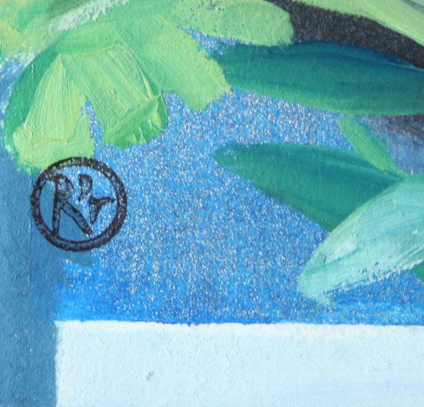 Kind of blue IV de Delphine Rocher