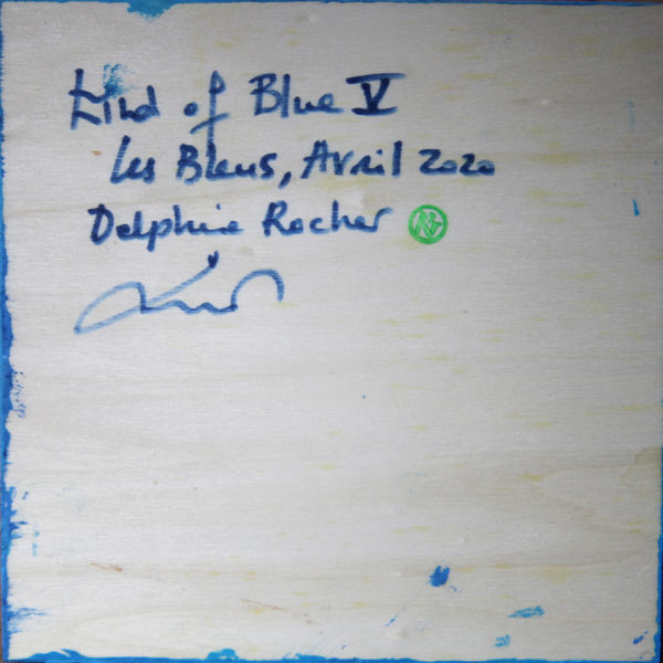 Kind of blue V de Delphine Rocher