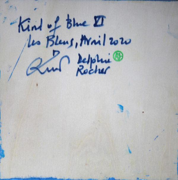Kind of blue 6 de Delphine Rocher