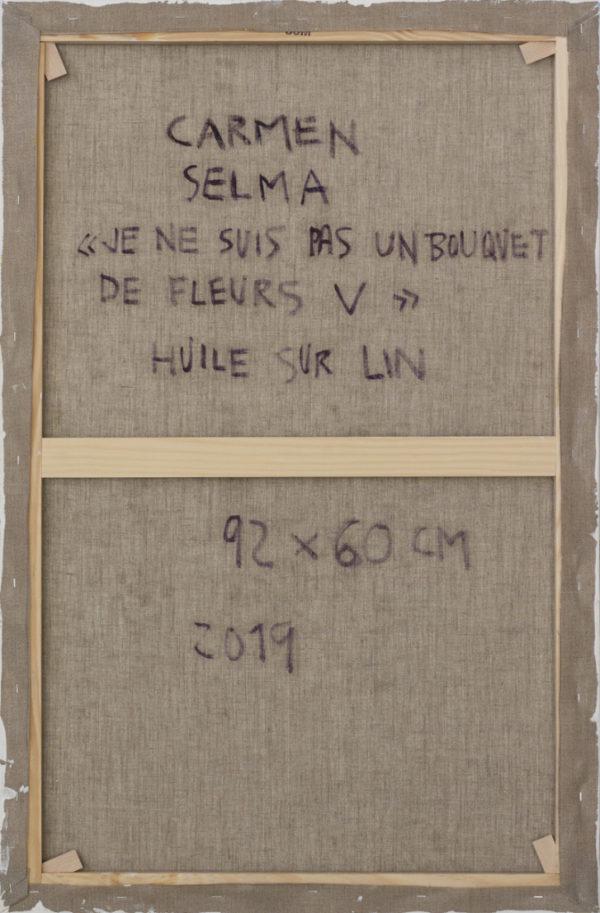 Je ne suis pas un bouquet de fleurs V de Carmen Selma