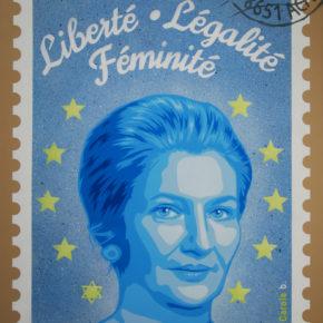 Liberté, légalité, féminité (bleue)
