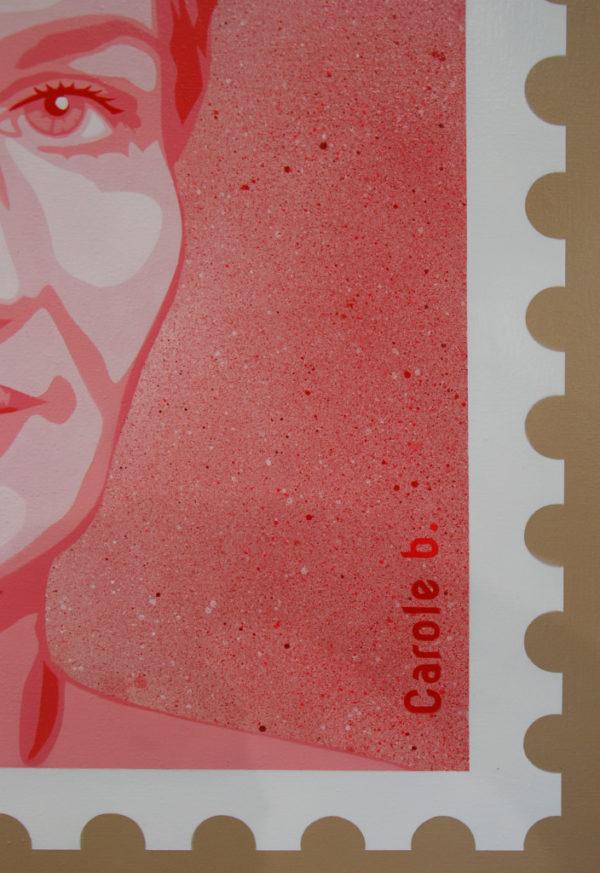 Liberté égalité féminité rose de Carole b.