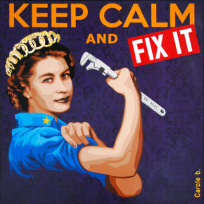 Keep calm and fix it