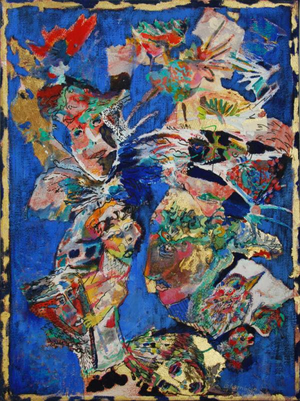 Hey Jack peinture d'Esther Ochsenbein