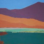 Paysage, Namibie, abstrait