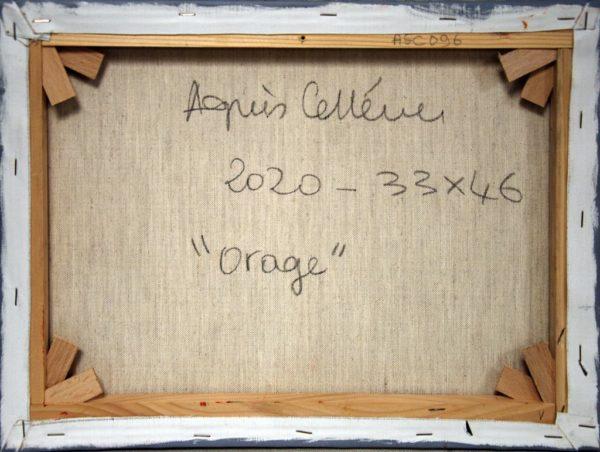 Orage d'Agnès Cellérier