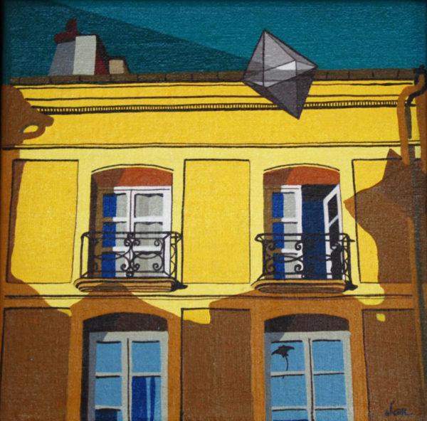 peinture, ville, saint-germain-en-laye