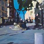 puits, Troyes, peinture, huile