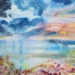 donna acheson, aquarelle, paysage