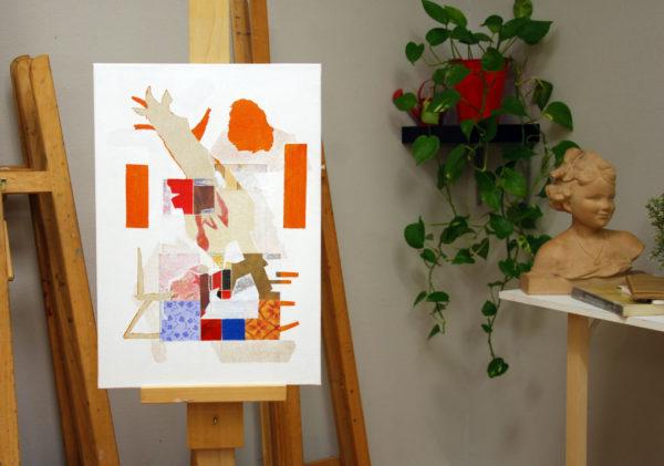 Paperwall 1 d'Alexandra Chauchereau