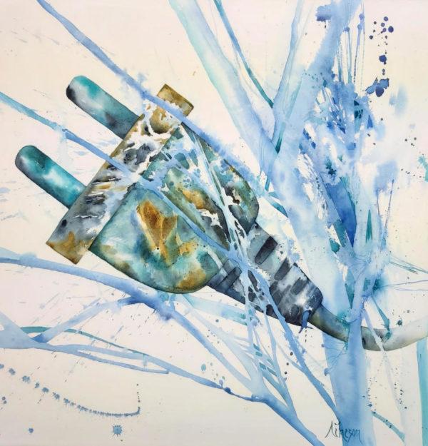 nature morte, aquarelle, contemporain