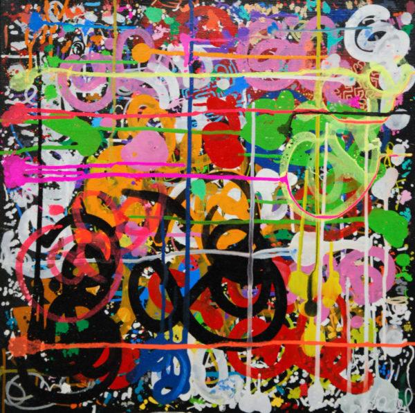 street art, urbain, acrylique
