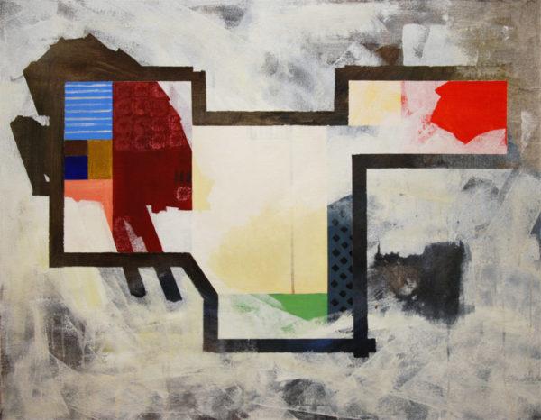 composition, abstrait, appartement