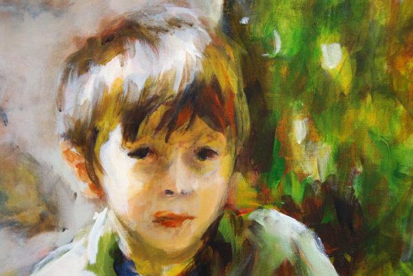 L'enfant sur le banc de Blanche Bérat